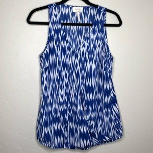 Laundry | Blue and White Tank Top